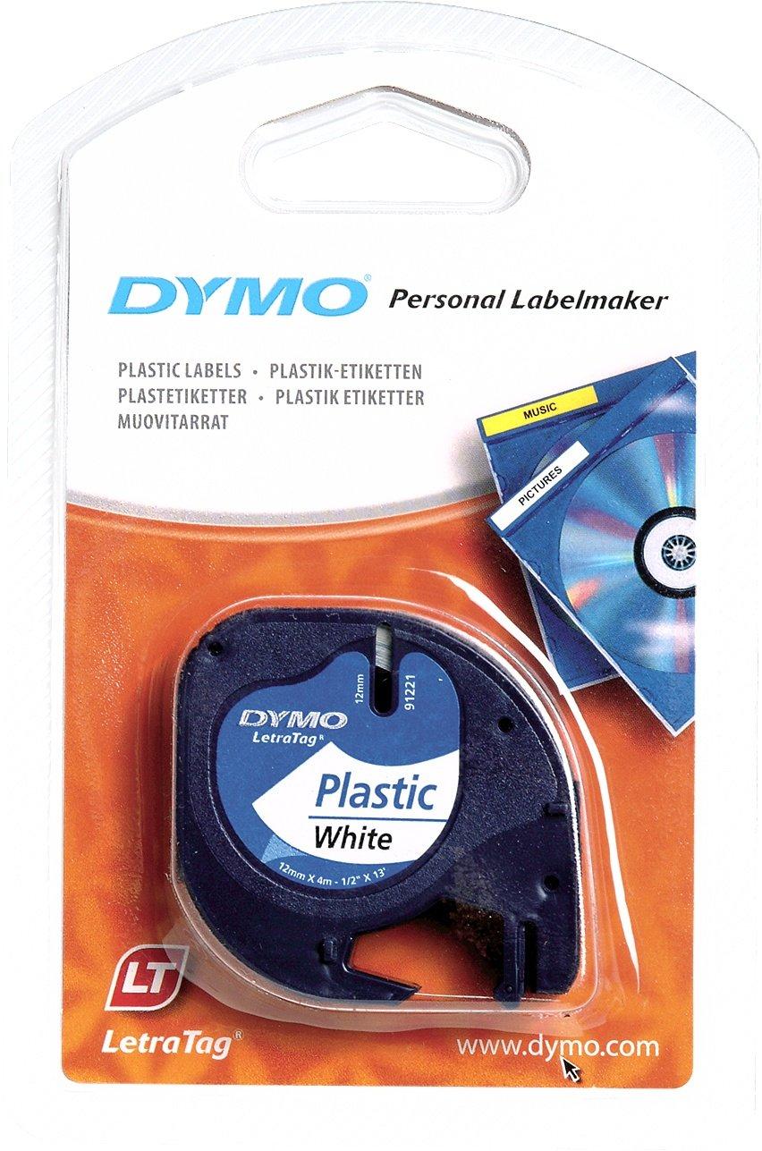 DYMO mm LetraTAG Plastic tape cinta para impresora de etiquetas Cintas para