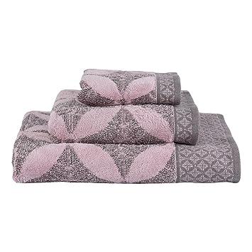 Le Jacquard Francais 22891 toalla de baño onsen algodón pomelos 70 x 140 cm: Amazon.es: Hogar