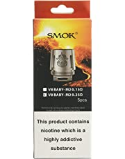 Smok TFV8 Beast Coils M2 - 0.25 Ohm - Paquete de 5, Sin Tabaco y