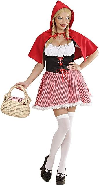 Disfraz Caperucita Roja mujer: Amazon.es: Ropa y accesorios