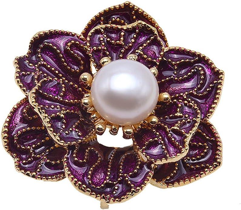 YYOGG Fresh Water Pearl Pearl Pin Brooch Pin Ben Korean Clothing Accessories X768