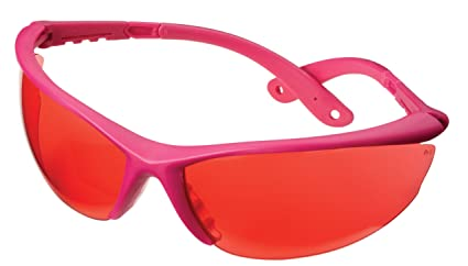 b8cb73fb3cc Champion Shooting Glasses with Ballistic Pink Open Frame (Rose Lens)