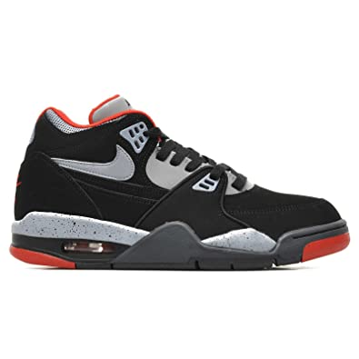 san francisco f43dd f2681 Nike Air Flight 89 GS Black Grey 6 UK   40 EU  Amazon.co.uk  Shoes   Bags