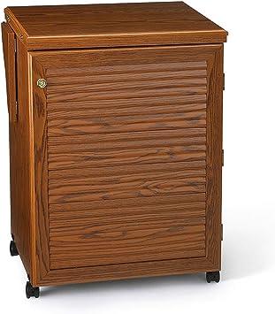 Mueble para máquina de coser- Sewnatra en Roble: Amazon.es: Hogar