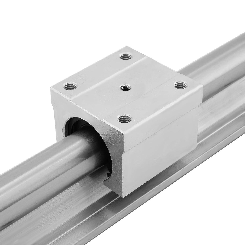 Ultraselect Linearschiene 15-1500mm 2x Linearf/ührungsschiene 4x Vierkant-F/ührungswagen Linearf/ührung f/ür 15mm-Kugellager HSR15X1500