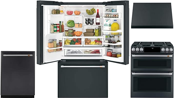 Amazon.com: GE CAFE 4 Piece Smart Kitchen Package with ...