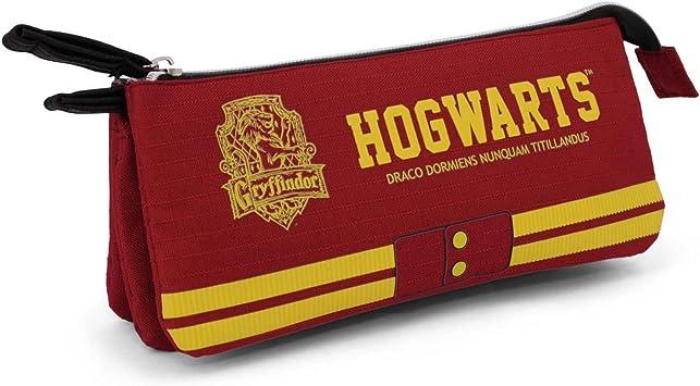 Harry Potter - Harry Potter - Estuche portatodo Triple (Karactermanía KM-33629) (Karactermanía 33629): Amazon.es: Equipaje
