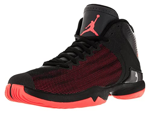 1cf2c847a807 Jordan Super. Fly 4 PO iv Men Basketball Shoes Black Infrared