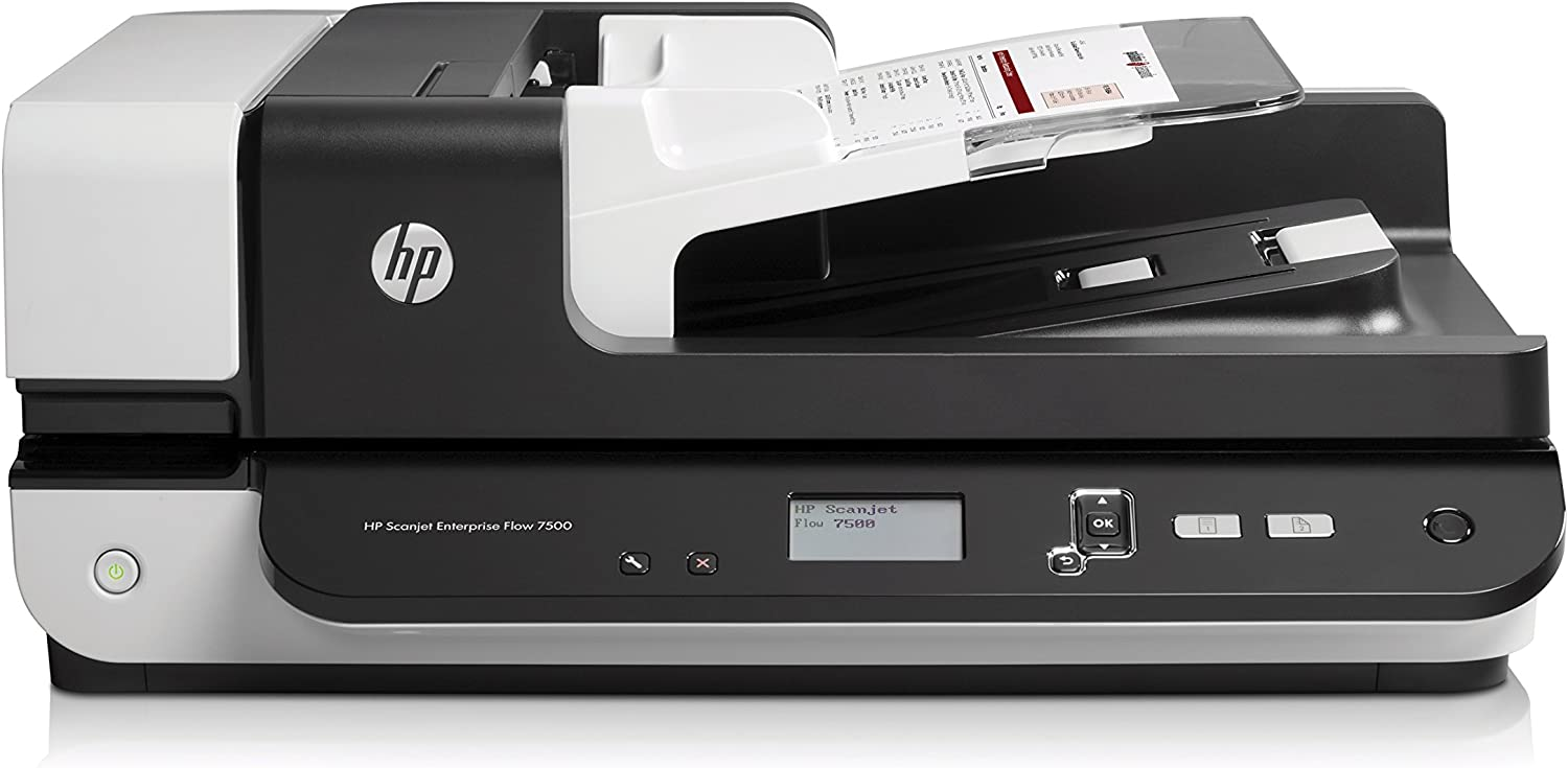 HP ScanJet Enterprise Flow 7500 Flatbed OCR Scanner (L2725B#BGJ)