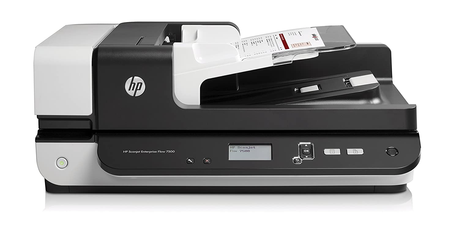 Buy Hp L2725bbgj Scanjet Enterprise Flow 7500 Flatbed Comutronics Electronics Qa Scanner By Online At Low Prices In India Reviews Ratings