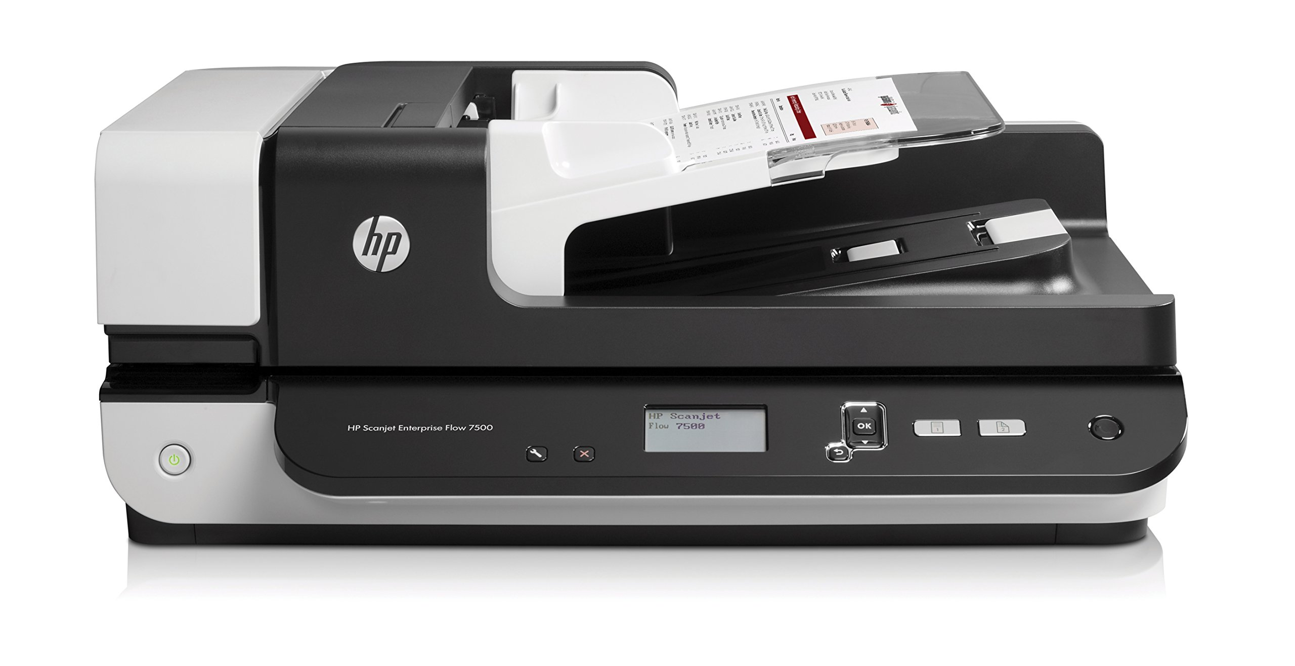 HP ScanJet Enterprise Flow 7500 Flatbed OCR Scanner by HP