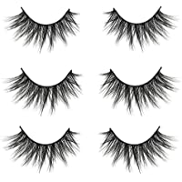 017c48f5cb3 VGTE 3D False Eyelashes Extension 3Pairs Makeup Hand-made Dramatic Long  Lashes Reusable Cruelty-