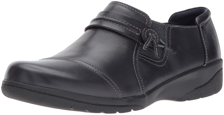 CLARKS Women's Cheyn Madi Loafer B01MQW7H77 10 B(M) US|Navy Leather
