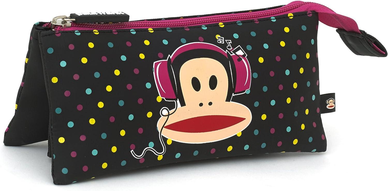 Paul Frank auriculares estuche escolar lunares: Amazon.es: Oficina y papelería