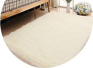 Living Room/Bedroom Rug Anti Skid Soft 150cm 200cm Carpet Modern Carpet mat Purple White Pink Gray 11 Color,White,140x200cm