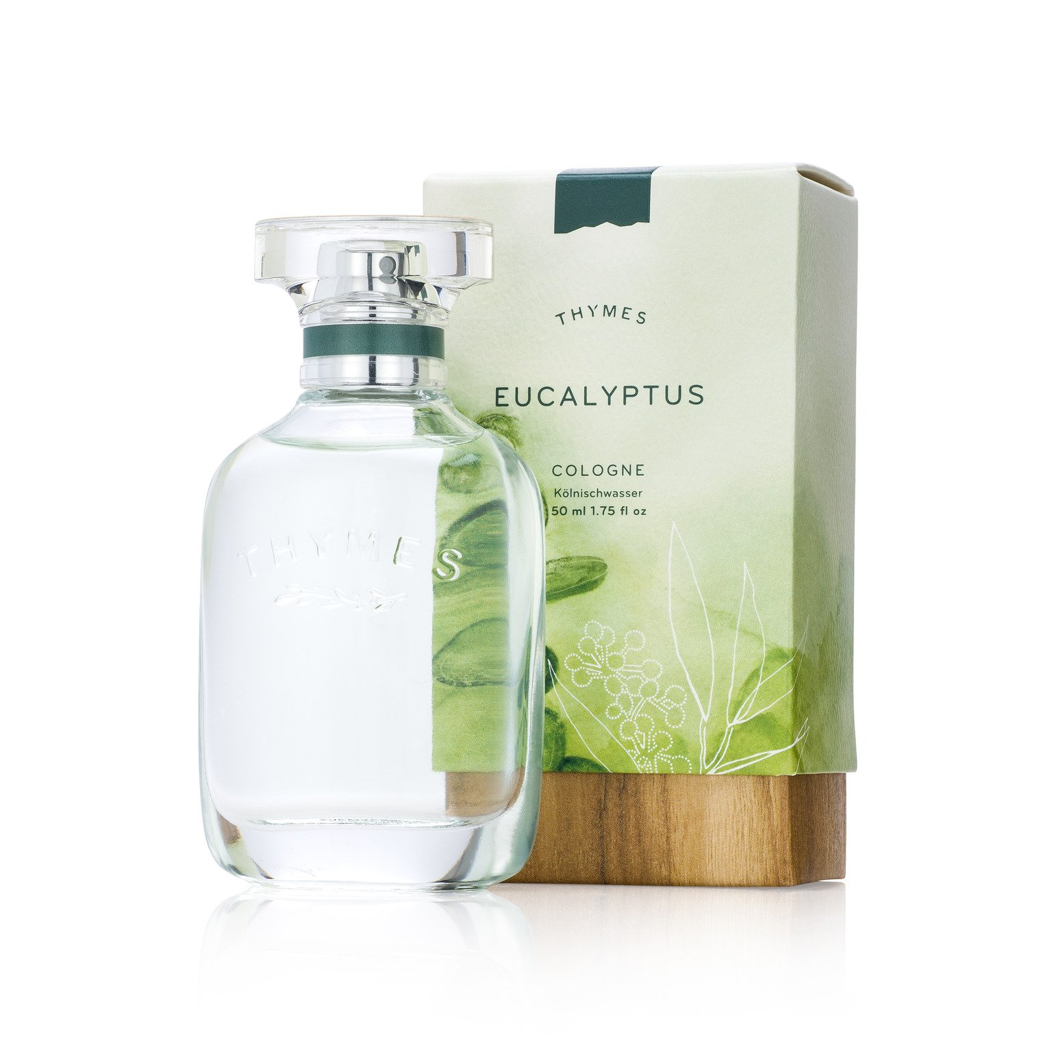 Thymes - Eucalyptus Cologne - Fresh Unisex Fragrance - 1.75 oz