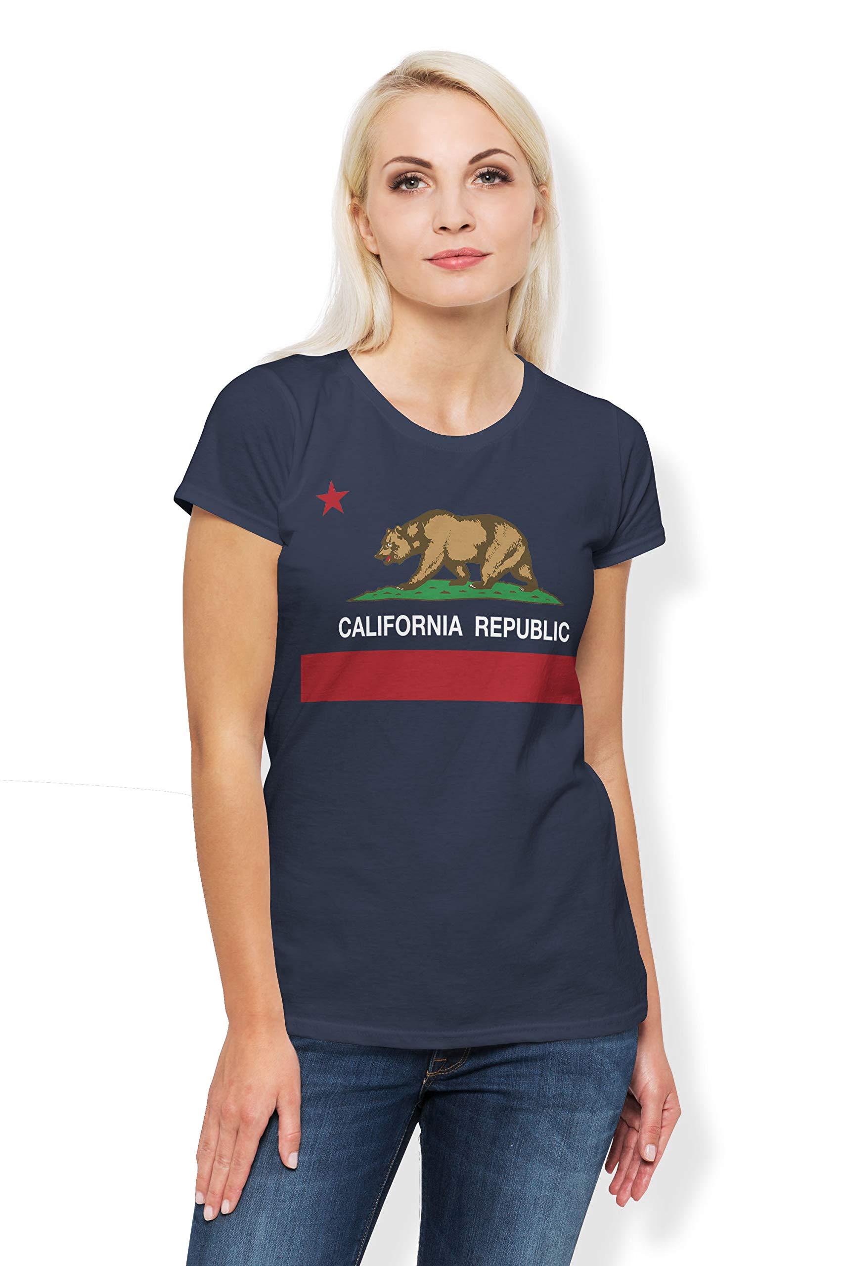 Arokan Cali Bear And S T Shirt California Flag Crew Neck Tshirt For And