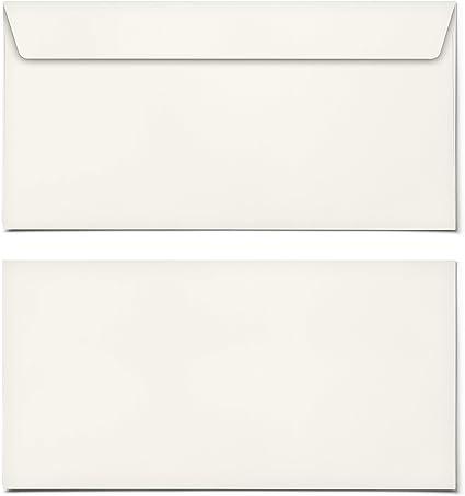 Briefumschläge DIN-Lang Beige Briefumschlag Kuvert Briefkuvert Umschlag