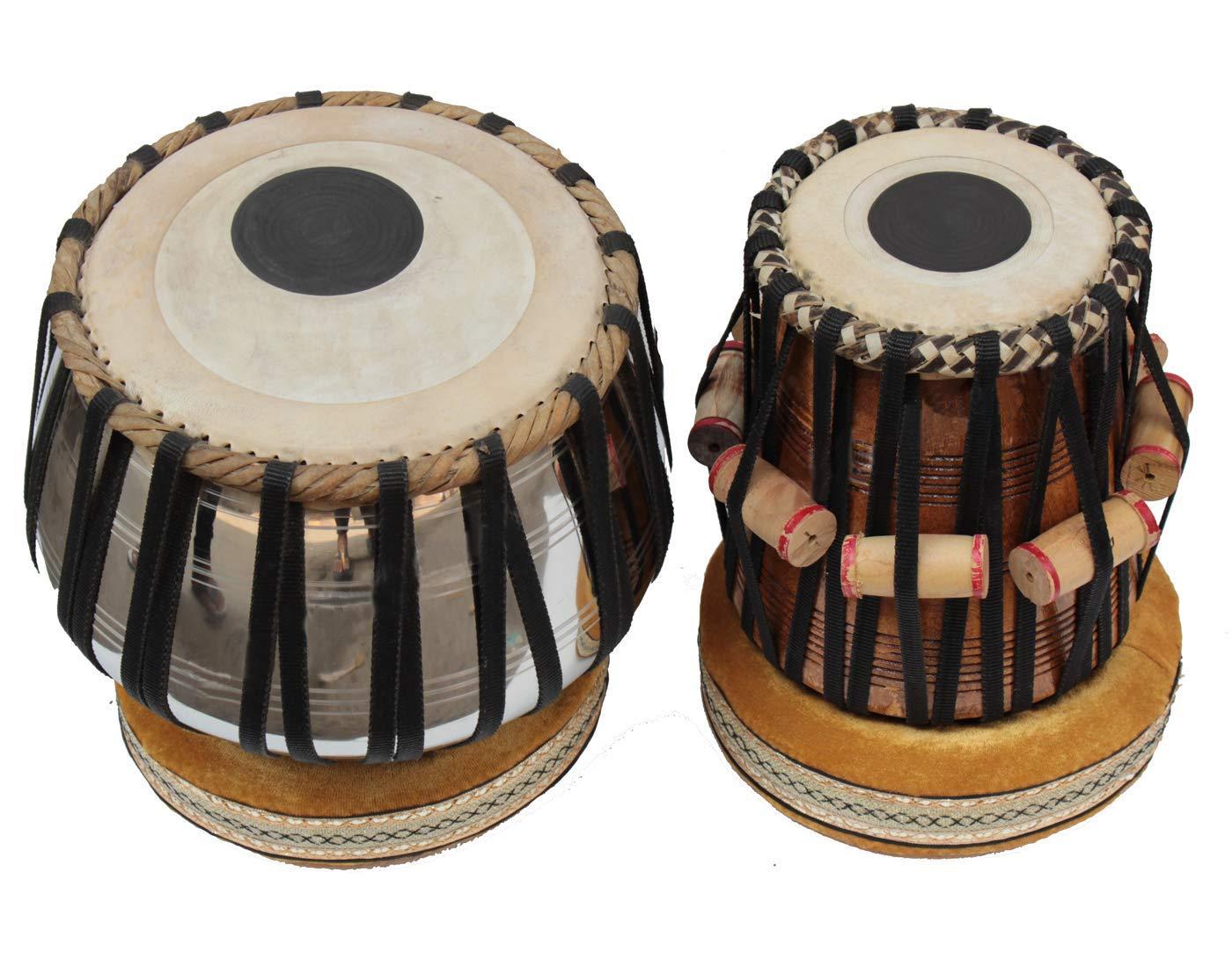 最先端 Makan Bayan B07QGZCB9Q & & Dayan with Tabla Set Percussion Musical Instrument with Carry Bag & Cushion B07QGZCB9Q, マイミシン:c423632f --- a0267596.xsph.ru