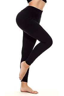 ad041e3ca YOHOYOHA Yoga Pants for Women Plus Size Tummy Control Lift The Hip XS-4XL  Black