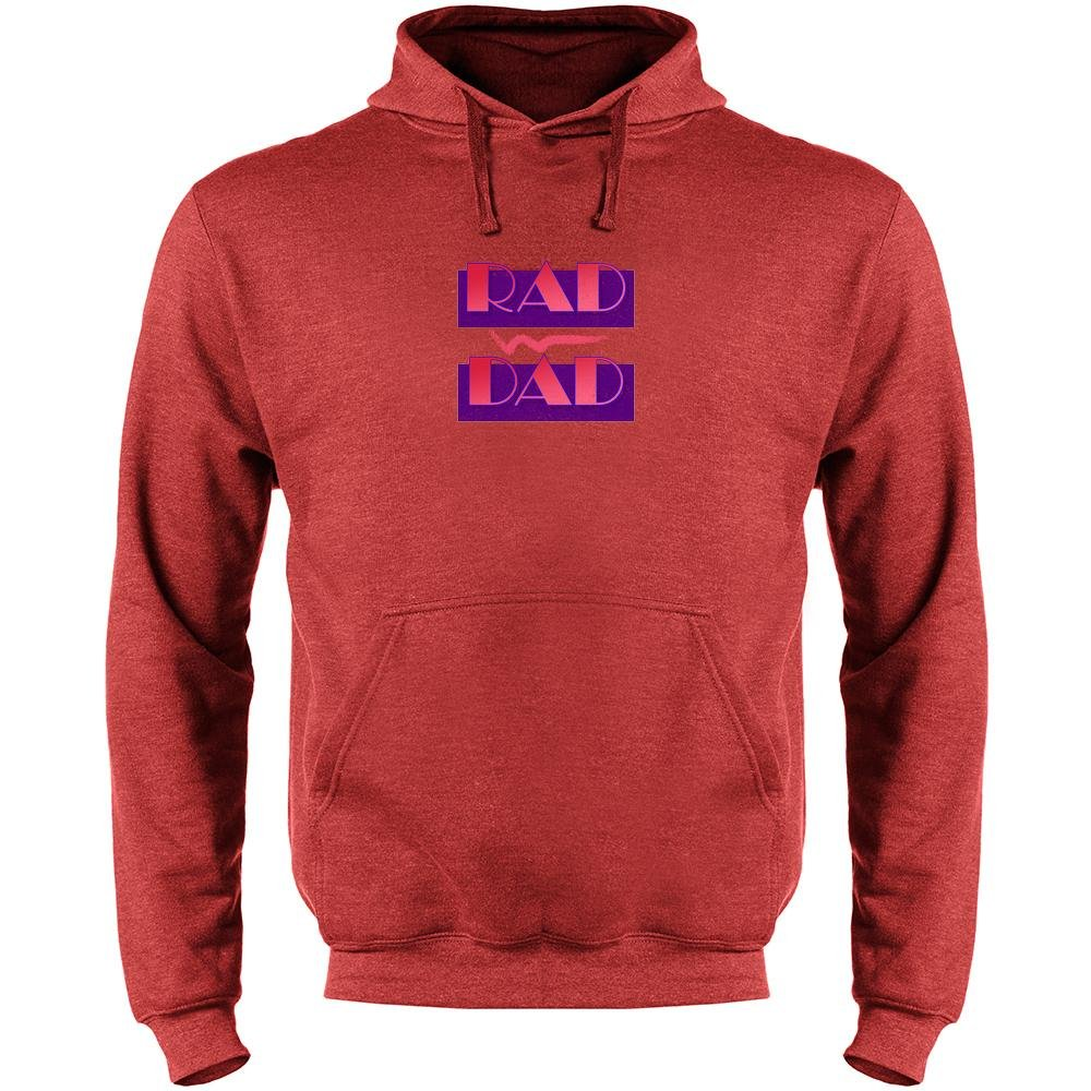 Rad Dad Fathers Day Mens Fleece Hoodie Sweatshirt