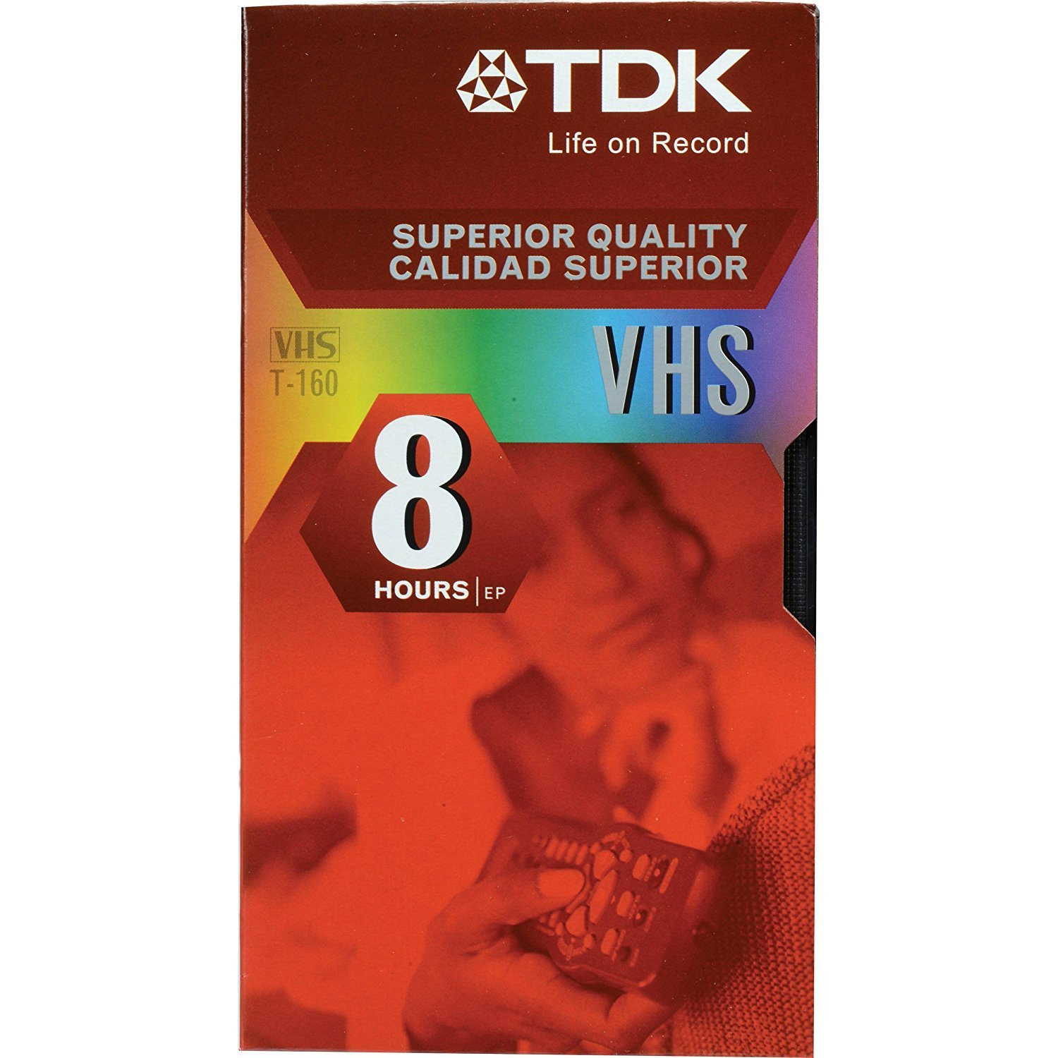 TDK T-160 VHS Video Tapes - 10 Pack by TDK