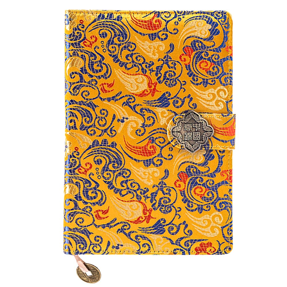 Mily Exquisite Notebook Chinese Yun Brocade Notebook Silk Hardcover Diary (H-Han Palace)