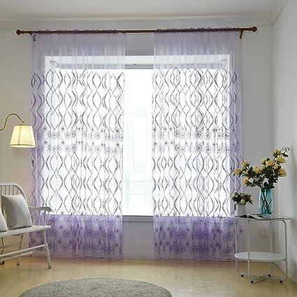 1 cortina de visillo para colgar cortinas, patas, visillos ...
