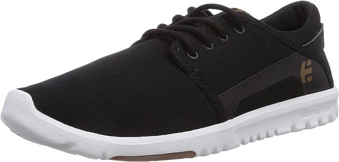 Etnies Scout Sneakers Herren Schwarz/Weiß (Black/White)