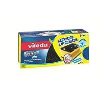 Vileda Glitzi Plus mit Antibac - Gründlich, hygienisch & saugstark, 3 Stück