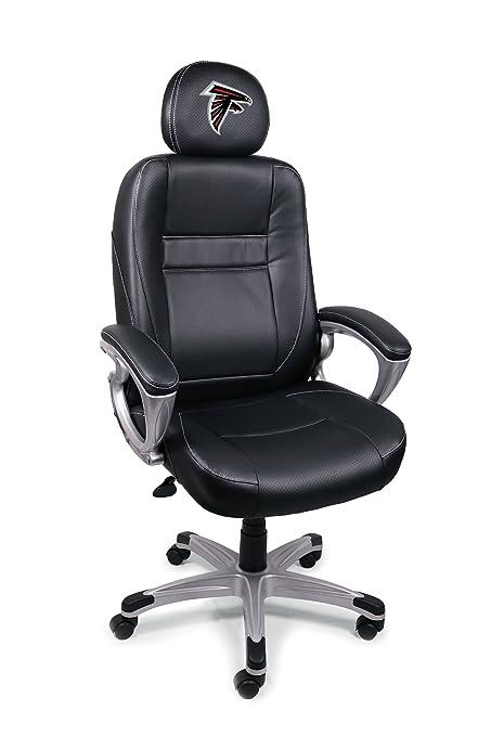 NFL Atlanta Falcons Leather Head Coach Office Chair
