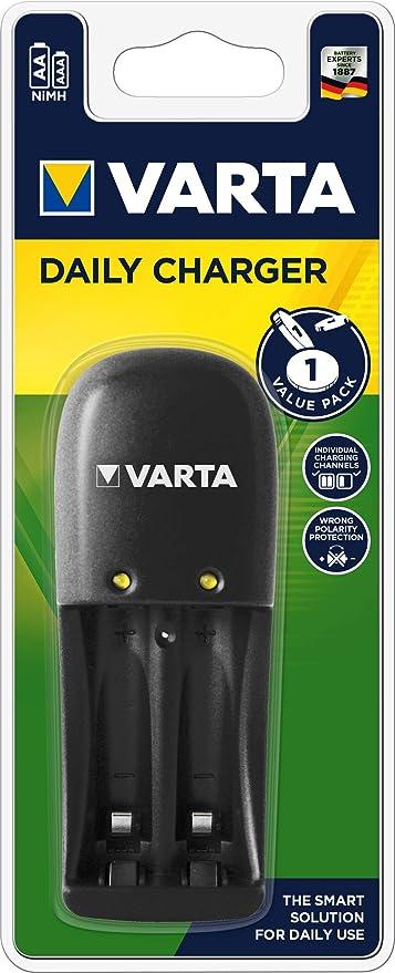 Varta - Cargador diario: Amazon.es: Salud y cuidado personal