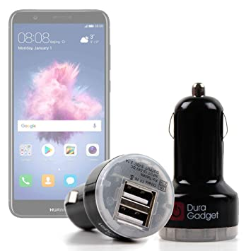 DURAGADGET Cargador Mechero del Coche para Smartphone Huawei ...