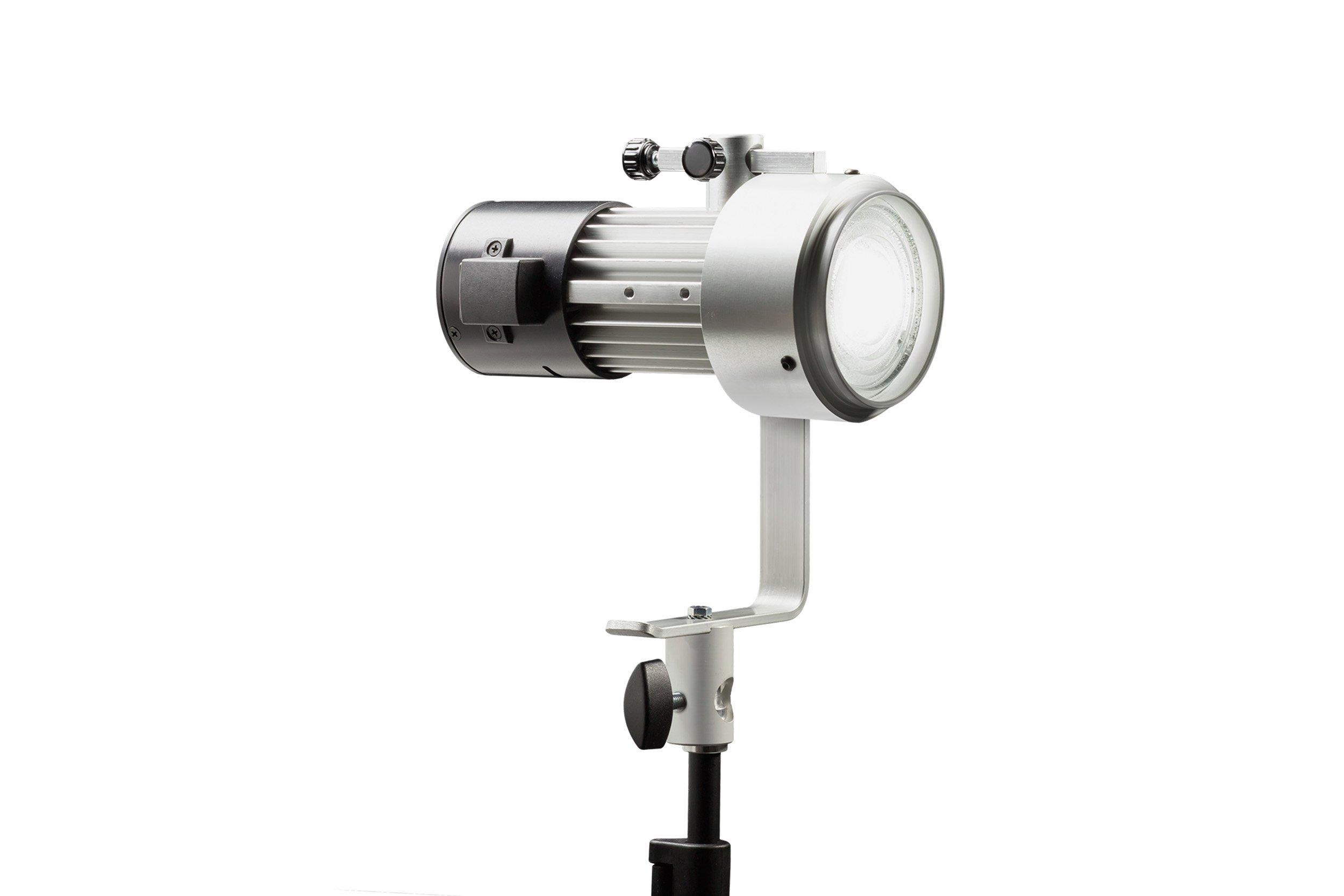 Ianiro MM8010HCD Medium Mintaka Fresnel Daylight with DMX High CRI (Silver)