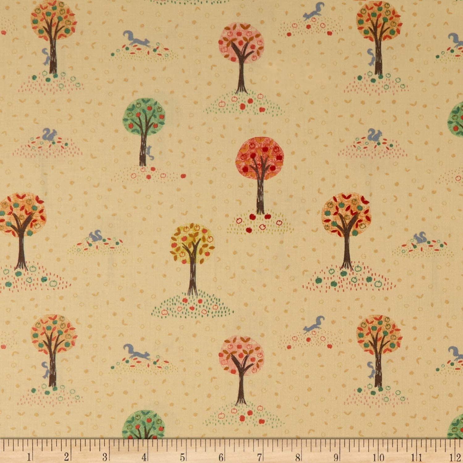 By The Yard Scarecrow Fabric