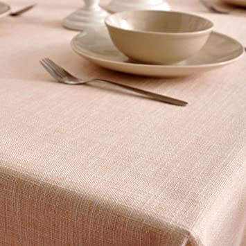 Amazoncom Classic Padded Solid Color TableclothFabric Table Cloth - Table pad fabric