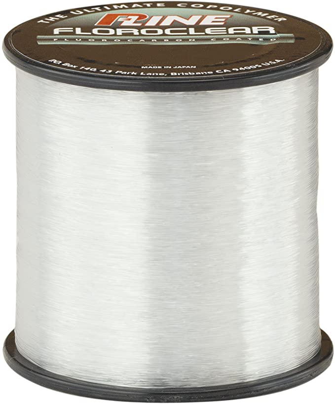 P-Line FLOROCLEAR 300 YD Crystal Clear 300m Transparente Cable de Fibra optica
