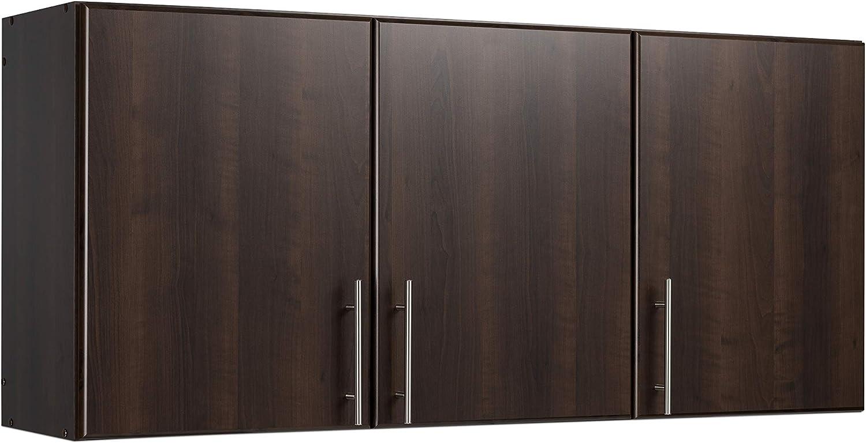 """Prepac 54"""" Wall Cabinet, Elite, Espresso"""