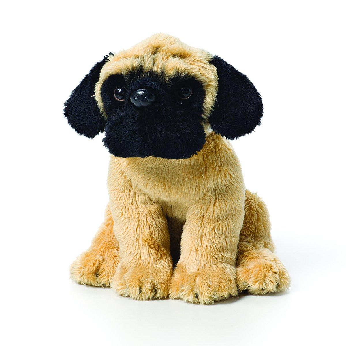 Peachy Demdaco Light Brown Pug Dog Childrens Plush Beanbag Stuffed Animal Toy Machost Co Dining Chair Design Ideas Machostcouk