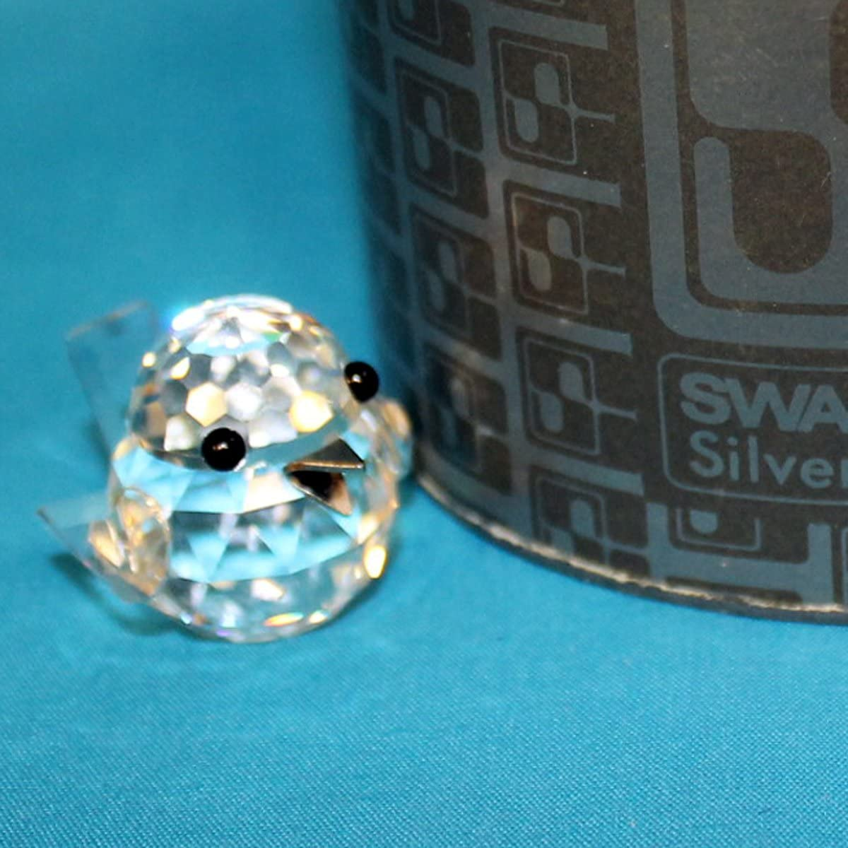 Swarovski Crystal Figurine 010017 Miniature Sparrow