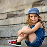 FOR U DESIGNS Cute Low Top Lace Up Kids Comfortable