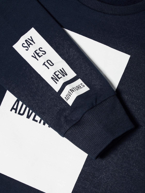 NAME IT Organic Jungen Sweatshirt aus Bio Baumwolle NMMLABAN 13155009