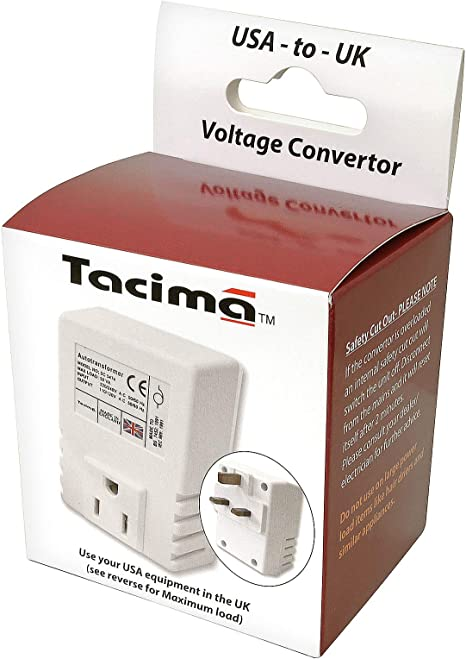 230//240 Volts down to Kauden Tacima SC5474W//BP Step Down Voltage Convertor