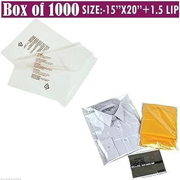 1000 bolsas de polipropileno con cierre de textil/textil ...