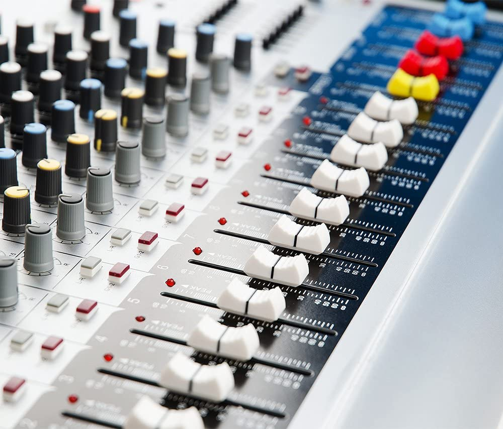 Vangoa Professionell MX-12 USB Mischpulte Tragbarer Audio Sound Mixer mit 12 Kan/älen,16 DSP Mischer