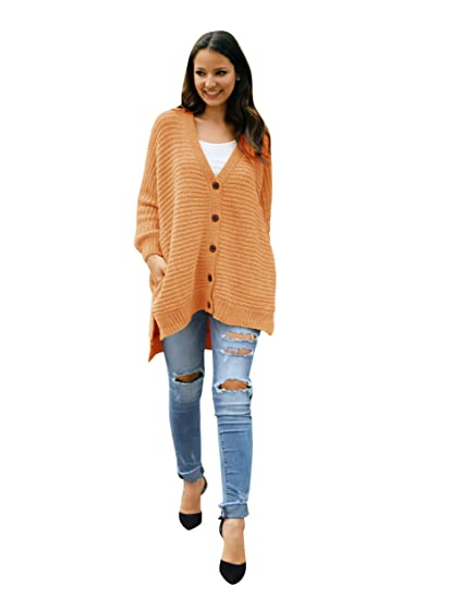Womens Plus Size Cardigan Long Cable Knit Chunky Oversized Fall