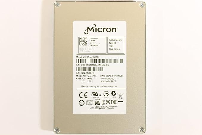 Dell CMDH9 MTFDDAK128MAY - Disco Duro para portátil Inspiron 5439 ...