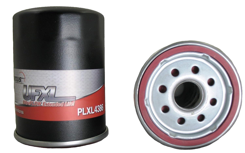 Extented Life Line for Chevrolet,Infiniti,Nissan,Pontiac,Suzuki,Toyota Pentius PLXL4386 Spin-On Oil Filter