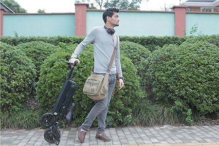 allocacoc plegable bicicleta eléctrica cargador de batería con cable de alimentación para adultos, gris: Amazon.es: Deportes y aire libre