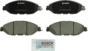 Bosch BC1649 QuietCast Premium Ceramic Disc Brake Pad Set For: Infiniti JX35, QX60; Nissan Murano, Pathfinder, Front